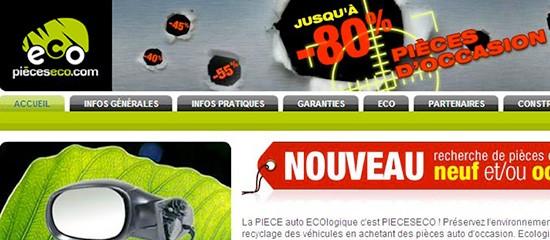 Pieceseco.com: des pièces auto d'occasion vendues en ligne