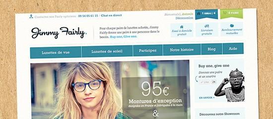 Jimmyfairly.com: donner du sens aux achats de lunettes
