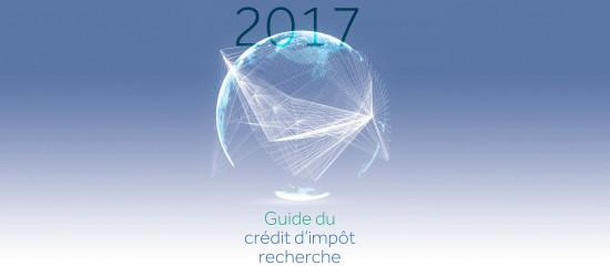 Crédit d'impôt recherche: le guide2017 est paru!