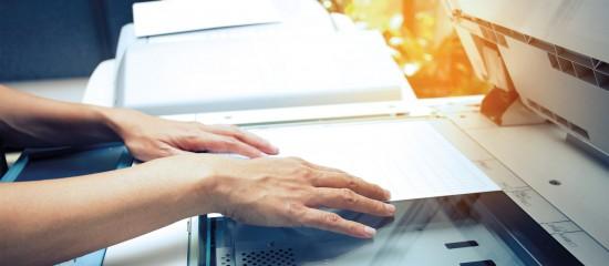 Numérisation des factures papier: c'est permis!