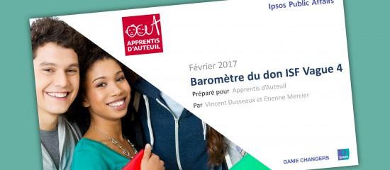 Des dons ISF en baisse en2016 et une incertitude pour2017…